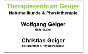 Logo von Geiger Therapiezentrum