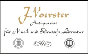 Logo von Antiquariat Voerster