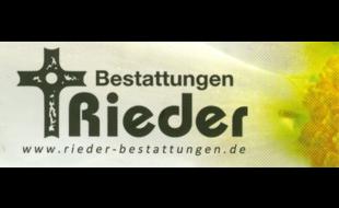 Logo von Bestattungen Rieder