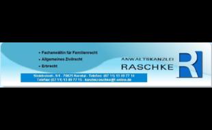 Logo von Anwaltskanzlei Raschke
