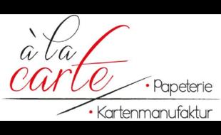 Logo von à la carte - exklusive Kartenfertigung