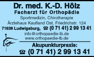 Hölz K. - D. Dr.med., Facharzt für Orthopädie und Akupunkturpraxis