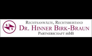 Logo von Rechtsanwälte, Rechtsbeistand Dr. Hinner, Birk-Braun Partnerschaft mbB