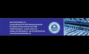 Logo von Fachgroßhandel EDV-Netzwerkzubehör RW Electronics e.K.