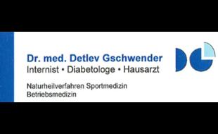 Logo von Gschwender Detlev Dr.med., Internist, Diabetologe, Hausarzt
