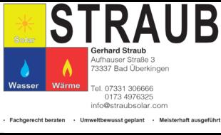 Logo von Straub Gerhard