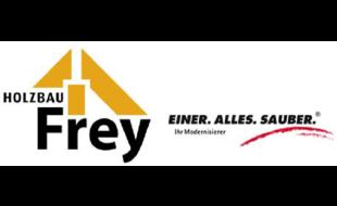 Logo von Frey Holzbau Einer.Alles.Sauber