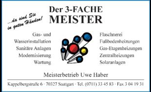 Bild zu Haber Uwe - DER 3-FACHE MEISTER in Stuttgart