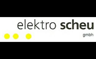 Logo von Elektro Scheu GmbH