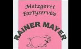 Logo von Mayer Rainer Metzgerei  und Partyservice