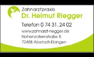 Logo von Riegger Helmut Dr.med.dent.