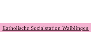 Logo von Katholische Sozialstation Waiblingen