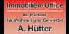 Kundenlogo von Immobilien-Office Hütter
