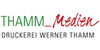 Kundenlogo von Druckerei Thamm Medien