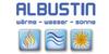 Kundenlogo von Albustin GmbH Wärme - Wasser - Sonne