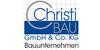 Kundenlogo von Christi Bau GmbH & Co. KG