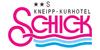 Kundenlogo von Schick Kneipp-Kurhotel
