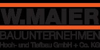 Kundenlogo Bauunternehmen W. Maier