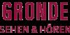Kundenlogo von GRONDE SEHEN & HÖREN