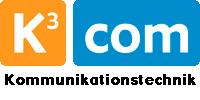 Kundenlogo K3com Kommunikationstechnik Uwe Kreitschmann ISDN DSL Netzwerk Telekom Computer