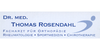 Kundenlogo von Dr. Thomas Rosendahl FA f. Orthopädie Rheumatologie Chirotherapie Akupunktur