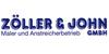 Kundenlogo von Baudekoration Zöller u. John GmbH