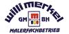 Kundenlogo von Merkel Willi Malerfachbetrieb GmbH