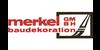Kundenlogo von Merkel GmbH Baudekoration Malerfachbetrieb