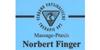 Kundenlogo von Finger Norbert Massage-Praxis Lymphdrainage und manuelle Therapie
