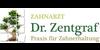 Kundenlogo von Zentgraf Christian Dr. Praxis f. Zahnerhaltung