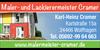 Kundenlogo von Cramer Karl-Heinz Maler- und Lackierermeister