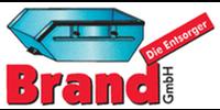 Kundenlogo Container Abfall Aktenvernichtung Brand