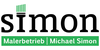 Kundenlogo von Malerbetrieb Simon Michael