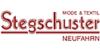 Kundenlogo von Mode & Textil Stegschuster