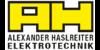 Kundenlogo von Alexander Haslreiter Elektrotechnik