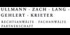 Kundenlogo von ULLMANN, ZACH, LANG, GEHLERT, KRIETER Rechtsanwälte Fachanwälte Partnerschaft