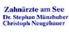 Kundenlogo von Münzhuber Stephan Dr., Neugebauer Christoph Zahnärzte