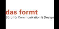 Kundenlogo das formt- wir entwickeln Marken. Büro für Kommunikation & Design