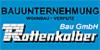 Kundenlogo von Bau GmbH Rottenkolber Bauunternehmen