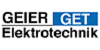 Kundenlogo von GET Geier Elektrotechnik GmbH