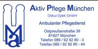 Kundenlogo Aktiv Pflege München Oskui u. Gjlek GbR