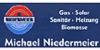 Kundenlogo von Niedermeier Michael Installation,  Heizungsbau