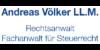 Kundenlogo von Andreas Völker LL.M., Rechtsanwalt