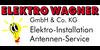 Kundenlogo von Wagner E. Elektroinstallationen