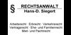 Kundenlogo von Siegert Hans-Detlef