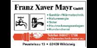 Kundenlogo Franz Xaver Mayr GmbH