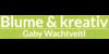 Kundenlogo von BLUME & kreativ Gaby Wachtveitl