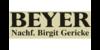 Kundenlogo von Beyer Nachf. Birgit Gericke Antiquitäten
