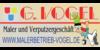 Kundenlogo von Malerbetrieb G. Vogel, Inh. Oliver Vogel