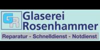 Kundenlogo Glas Glaserei Rosenhammer